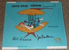 Hanna Barbera Signed The Jetsons George Original Production Model Sheet Cel   | eBay