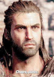 """""""I am Alexios!"""" Assassins Creed Origins, Assassins Creed Odyssey, Be Alpha, Fandoms, Hero, Assassin's Creed, Video Games, Play, Comics"""