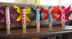clothespin dolls from Honest to Nod blog