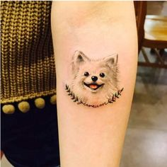 Sweet (and classy!) dog tattoos to show your pup your undying love.#cutedogs #dogscorner #dogslife