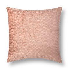 "Pink Chenille Blush Oversized Throw Pillow (24""X24"") - Threshold™ : Target"