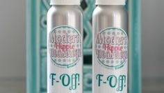 F-Off! All-Natural Bug Spray with Aloe Vera