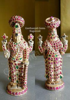 antique gold idol sri ranganathar