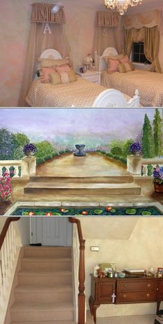 If you need an award-winning wall mural artist who can can turn your child's room into a work of art, hire Debbie. She also offers distinctive faux finishing, stenciling, Venetian plastering and more.