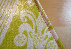 Sewing with Laminated Cottons - from Sew 4 Home