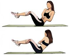 twists challenge The 7 Workout That Burns 7 Pounds Of Belly Pooch In 7 Days The 7 Workout To Burn Belly Pooch - Russian Twists 7 Workout, Pooch Workout, Belly Fat Workout, Workout Challenge, Toning Workouts, Workout Plans, Workout Ideas, Easy Workouts, Flabby Belly