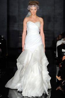 Reem Acra | Martha Stewart Weddings