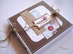 Belle idée de mini hiver et sa boîte :http://meryscrap.blogspot.it/2011/04/mini-album-winter.html