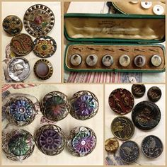 Vintage buttons are beautiful