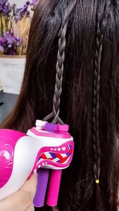 Rave Hair, Cute Babies Photography, Beauty Life Hacks Videos, Brown Hair With Blonde Highlights, Cool Gadgets To Buy, Cute Couple Videos, Cool Inventions, Beauty Art, Hair Tools