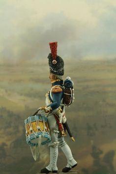 lead soldiers  | Drummer grenadier 1 32 scale