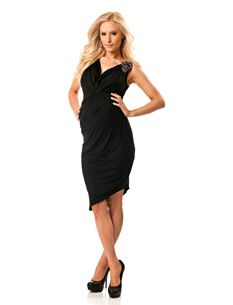 Any dads lookin' to get their hot mama-to-be a mother's day gift?? This dress almost makes me wish I were preggers!