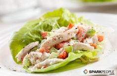 Protein-Packed Lettuce Wraps: Start with chicken or tuna salad. Spoon into butter lettuce and serve. No cooking!