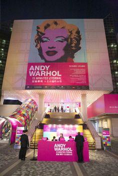 Event - BNY Mellon Andy Warhol Asia Tour by Rob Atkinson at Coroflot.com