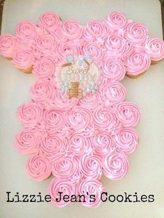 Elegant Onesie Made Of Cupcakes!
