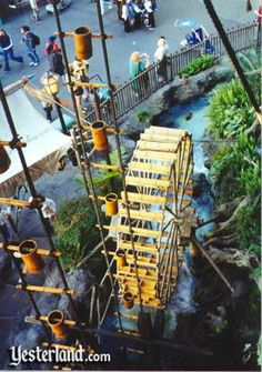 The Swiss Family Treehouse opened in Disneyland in November 1962. In early 1999, Disneyland evicted the Swiss Family from their Treehouse to make room for Tarzan.