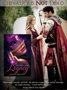 Read the bestselling YA fantasy romance saga that has become an international sensation! Medieval Knight, Fantasy Romance, Chivalry, Fantasy Series, Carnelian, Cheryl, Saga, Christian, Movie Posters