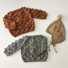 baby knitted clothes