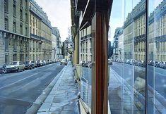 Richard Estes Oil paint on board Hyper realism