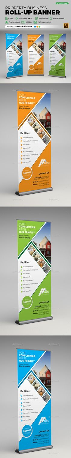 66 Best Bunting Images Roll Up Design Banner Template Bunting