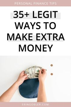 I love finding ways to make extra money! I seriously believe that extra income can change your life. If you're looking to make some extra money this year, here are legit ways to make extra money! Make More Money, Make Money Blogging, Money Tips, Extra Money, Make Money Online, Selling On Craigslist, Ask For A Raise, Teaching English Online, Freelance Writing Jobs