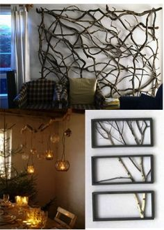 HOW TO DECORATE WITH BRANCHES