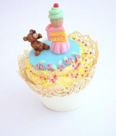 Buttercream Bakery Miniature Teddy Bear Cake Tower Cupcake « The Cupcake Blog