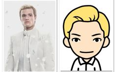 Hijacked Peeta....then in cartoon  haha, pretty much!