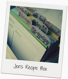 Living a Changed Life: My Recipe Collection