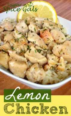 Looking for a delicious chicken dish, then this lemon chicken is one you need to give a try!