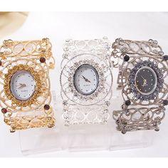 P9026640 Bangle Bracelets, Bangles, Women's Dress Watches, Quartz Watch, Gold Watch, Rose Gold, Crystals, Luxury, Lady