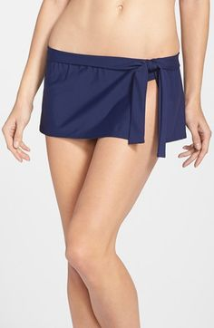 c5823968602a8 Tommy Bahama Skirted Hipster Bikini Bottoms available at  Nordstrom Beach  Gear