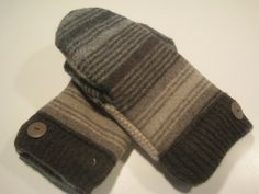 Ferrysburg Wool Mittens  med/lg  MMC430 by MichMittensbyLauri, $23.00