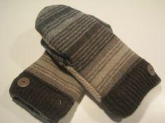 Ferrysburg Wool Mittens  med/lg  MMC430 by MichMittensbyLauri, $23.00