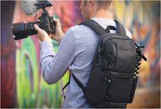 DSLR VIDEO FASTPACK 350 AW   BY LOWEPRO - http://www.gadgets-magazine.com/dslr-video-fastpack-350-aw-lowepro/