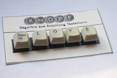 Wird verschenkt.  Recycling Tastaturen Magnenten