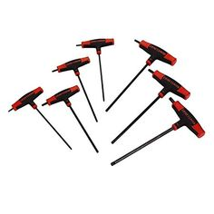 "/""LOOK/"" 7pc T-Handle Hex Allen Clé Set-T Bar Clé Set UK Stock"