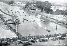 Rio Tietê próximo ao bairro de Santana Ano: 1942
