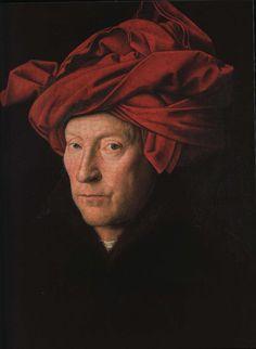 Jan Van Eyck Van Eyck's Portrait of a Man (1433), long supposed to be a self-portrait