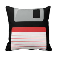 How amazing is this Floppy Disc Cushion!