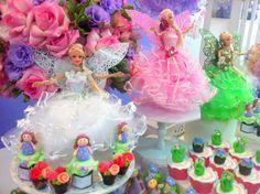 Festa Provençal - Site Oficial: O jardim da Barbie para a linda Marianna!