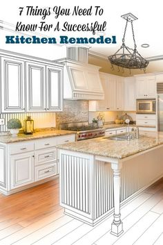 Save time, money, and energy by reading this post on tips for a successful kitchen remodel. Save money on home decor and home remodel by following these tips. Beautiful Budget Life