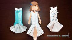 origami kimono dress instructions