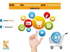 Bulk sms service for online portals and e-commerce industry http://www.slideshare.net/Bulk_SMS_Company/bulk-sms-service-for-online-portals-and-e-commerce-industry-49345067