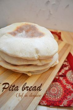 A step by step on how to make pita bread @Chef in disguise