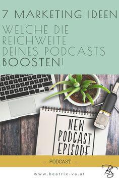 Mit diesen Marketing Maßnahmen erzielst du eine hohe Reichweite deines Podcasts. Werde schnell bekannt und lande auf Platz 1 der Charts!
