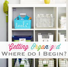 Spring Organization: Where Do I Begin? | iHeart Organizing
