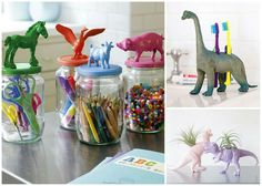 Cool idea for old plastic animals.