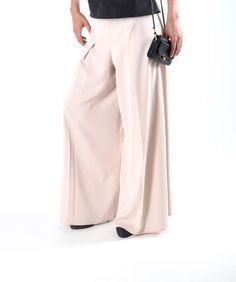 Pantalon Jupe Culotte en soie