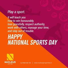 Wishing every sportsman and sports lovers a happy #NationalSportsDay!  #Kerala #Kochi #India #SportsDay #Architecture #Home #Construction #City #Elegance #Sports #Elegant #Building #Beauty #Beautiful #Exquisite #Interior #Design #Comfort #Luxury #Life #Living #Gorgeous #Style #LifeStyle #RealEstate #Nature #View #Atmosphere #Apartment